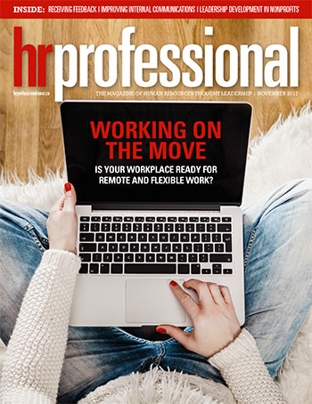 HR Pro November 2017 cover