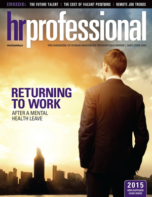 HR Professional | May/June 2015
