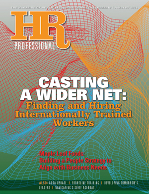 HR Professional January 2012