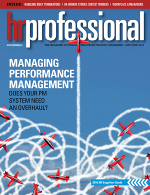 HR Professional | May/June 2016